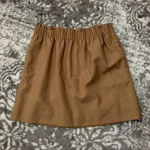 J. Crew city mini skirt in khaki size 8